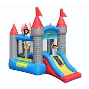 Päťuholníkový hrad so šmýkačkou