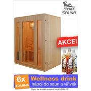 Fínska sauna pre tri osoby Zo 3