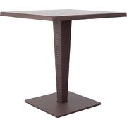 SIESTA EXCLUSIVE; Stôl RIVA hnedý