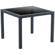 SIESTA EXCLUSIVE; Stôl BALI šedý