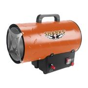 Plynová teplovzdušná turbína Sharks SH 10kW