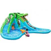 Happy Hop Veľký vodný aqua park Krokodíl s veľkým bazénom