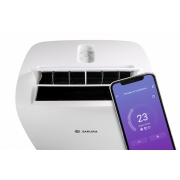 Mobilná klimatizácia SAKURA STAC 12 CPB / K Wi-Fi