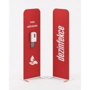 Prezenta FLEXI dezinfekčný stojan RED s bezdotykovým dávkovačom v cene