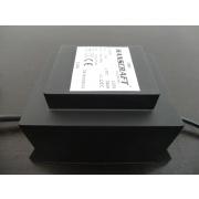 Transformátor bezpečnosťou 200VA (230-11,5 V) zaliaty